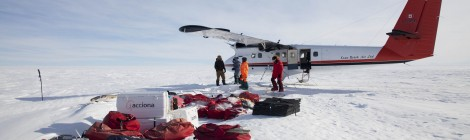 El 'laboratorio móvil' que viaja en avioneta
