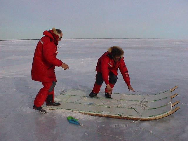 Segundo prototipo, siguiendo el modelo inuit, en Canadá.