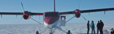 ¡Navegando viento a favor por el desierto de hielo!