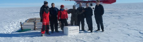 El Trineo de Viento, sobre el hielo de Groenlandia