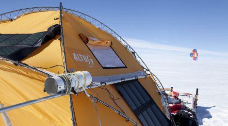 El Trineo de Viento revela pesticidas en la Antártida