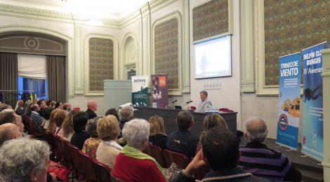 Gran acogida del Trineo de Viento en Burgos