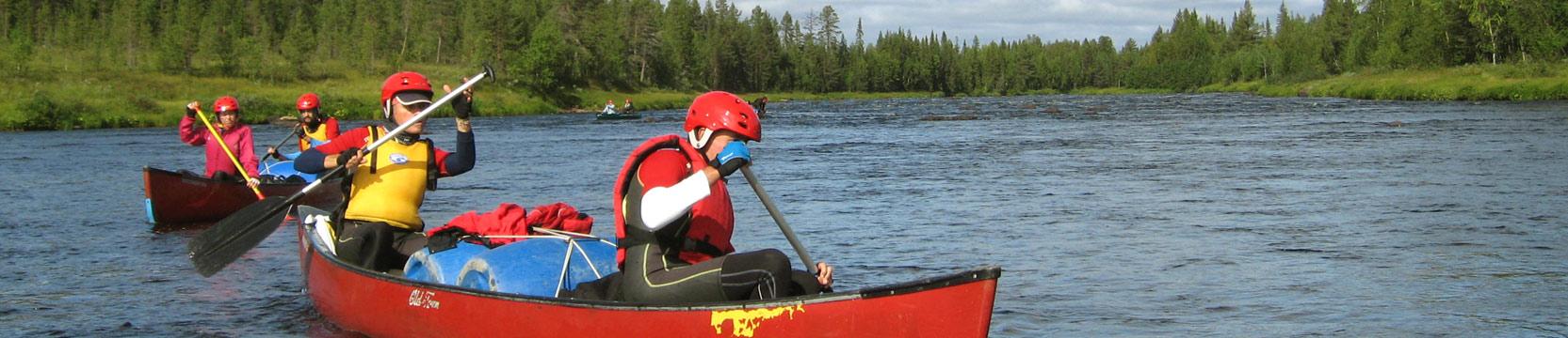 viaje de aventura a Finlandia en verano