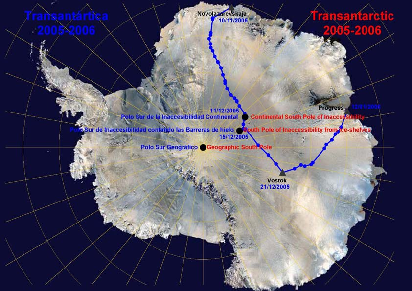 1 -expedition route