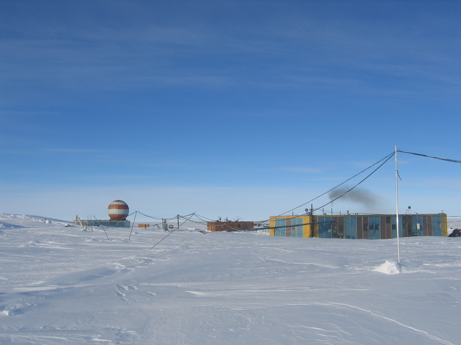 Base rusa de Vostok.