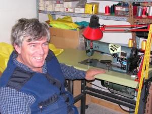Juan Lupion en su taller.