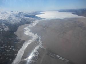 Última vista de la tierra no congelada, en muchos días...