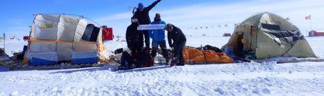 Finaliza con éxito la expedición Río de Hielo 2017