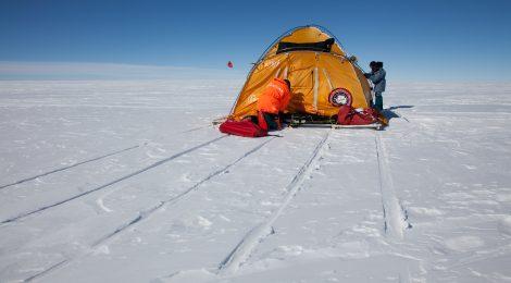 El Trineo de Viento, en el RÍo de Hielo: ¡¡850 kms en 15 días!!
