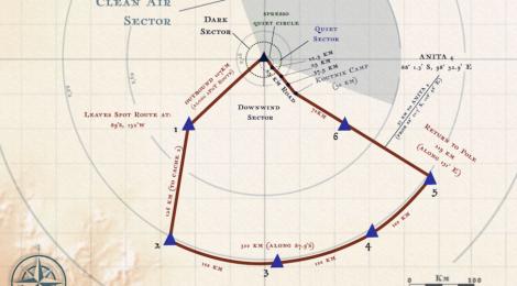 La NASA lanza una expedición antártica: 750 kilómetros