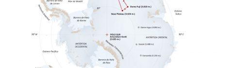 En marcha hacia la 1ª Campaña Antártica
