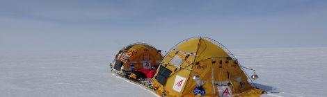 Nuevo hito del Trineo de Viento en la Antártida